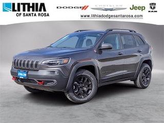 New 2021 Jeep Cherokee TRAILHAWK 4X4 Sport Utility Santa Rosa, CA