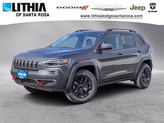 New Jeep 2021 Jeep Cherokee TRAILHAWK 4X4 Sport Utility for sale in Santa Rosa, CA