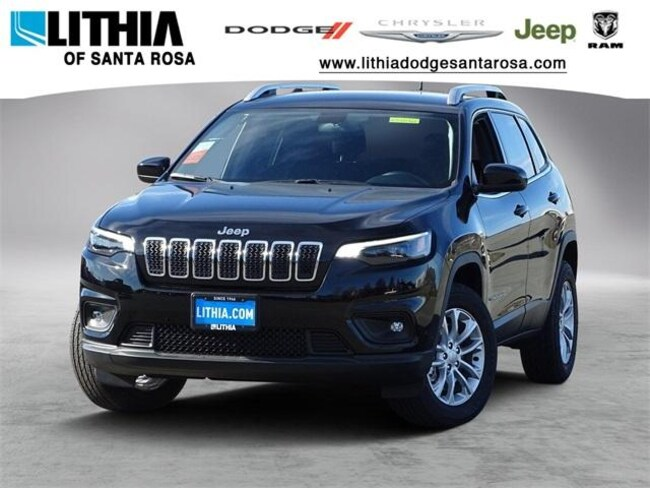 New 2019 Jeep Cherokee LATITUDE 4X4 Sport Utility Santa Rosa, CA
