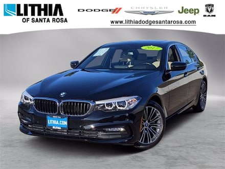 Used 2017 BMW 530i Sedan Santa Rosa, CA