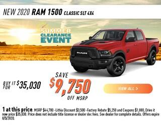 2020 Ram 1500 Classic SLT 4X4