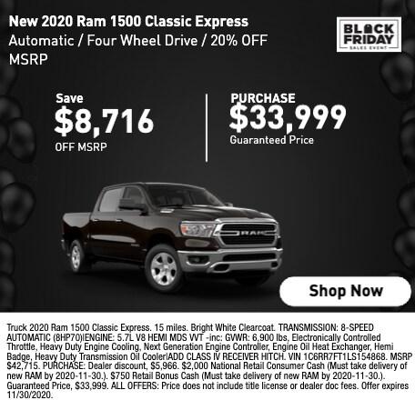 2020 RAM 1500 Classic Express