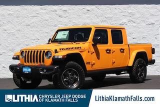 New 2021 Jeep Gladiator RUBICON 4X4 Crew Cab Klamath Falls, OR