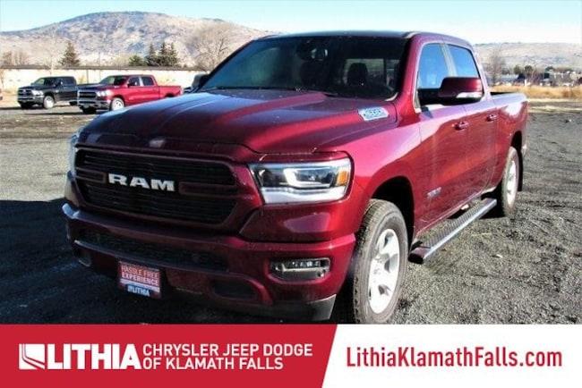 New 2019 Ram 1500 BIG HORN / LONE STAR CREW CAB 4X4 6'4 BOX Crew Cab Klamath Falls, OR