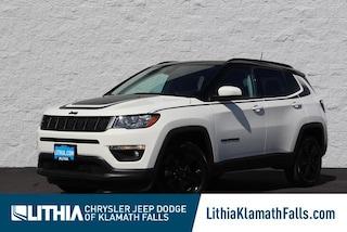 New 2021 Jeep Compass ALTITUDE 4X4 Sport Utility Klamath Falls, OR