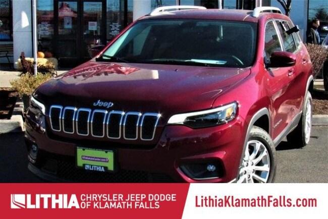 New 2019 Jeep Cherokee LATITUDE FWD Sport Utility Klamath Falls, OR