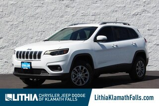 New 2021 Jeep Cherokee LATITUDE LUX 4X4 Sport Utility Klamath Falls, OR