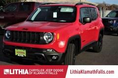 New 2018 Jeep Renegade UPLAND 4X4 Sport Utility Klamath Fall, OR