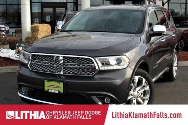 New 2018 Dodge Durango CITADEL AWD Sport Utility Klamath Falls, OR