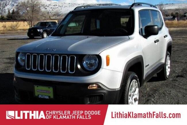 New 2018 Jeep Renegade SPORT 4X4 Sport Utility Klamath Falls, OR