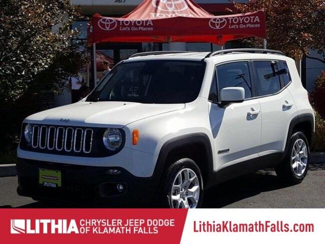 New 2018 Jeep Renegade LATITUDE 4X4 Sport Utility Klamath Falls, OR