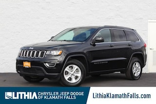 Certified Pre-Owned 2017 Jeep Grand Cherokee Laredo 4x4 SUV Klamath Falls, OR