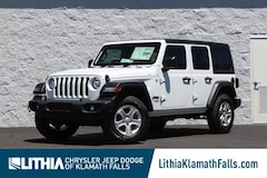 New 2021 Jeep Wrangler UNLIMITED RHD Sport Utility Klamath Fall, OR