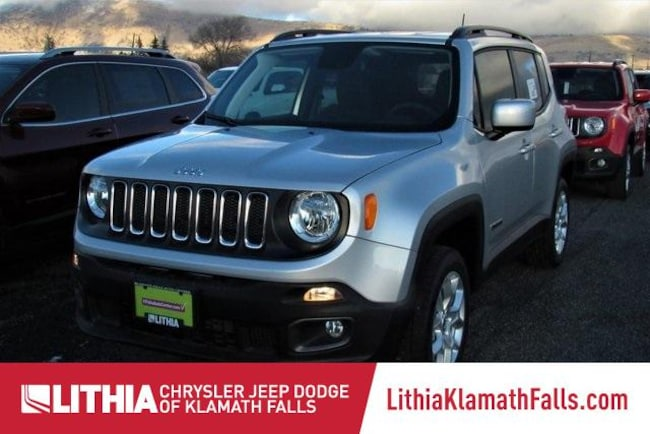 New 2018 Jeep Renegade LATITUDE 4X4 Sport Utility Klamath Falls, OR