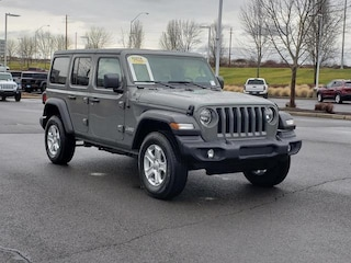 New 2021 Jeep Wrangler UNLIMITED SPORT S 4X4 Sport Utility Medford, OR
