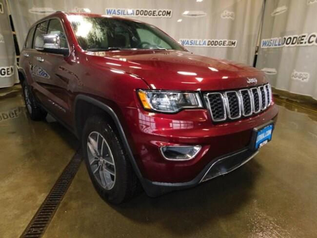 New 2018 Jeep Grand Cherokee LIMITED 4X4 Sport Utility Wasilla, AK