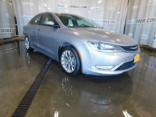 Certified Pre-Owned 2015 Chrysler 200 C Sedan Wasilla, AK