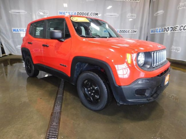 Certified Pre-Owned 2018 Jeep Renegade Sport 4x4 SUV Wasilla, AK