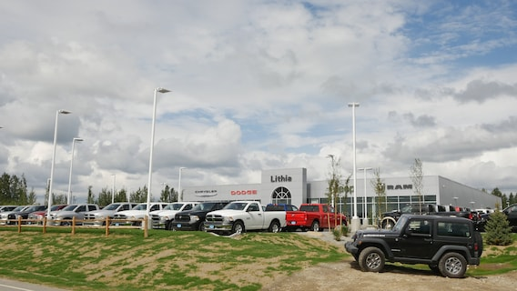 Lithia Chrysler Jeep Dodge >> Directions To Our Chrysler Jeep Dodge Ram Dealership In