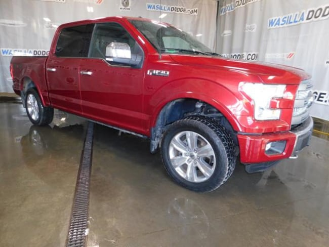 Used 2015 Ford F-150 Truck SuperCrew Cab Wasilla, AK