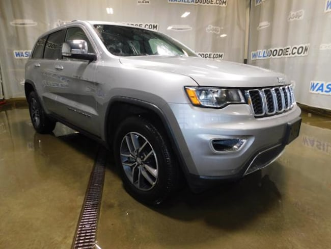 Used 2018 Jeep Grand Cherokee Limited 4x4 SUV Wasilla, AK