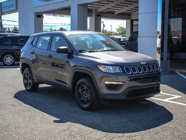 New 2019 Jeep Compass SPORT 4X4 Sport Utility in Concord, CA