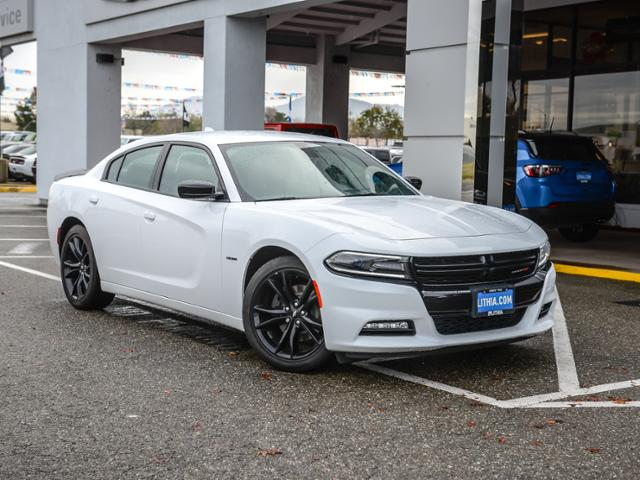 New 2018 Dodge Charger R T Rwd Sedan White Knuckle For Sale In