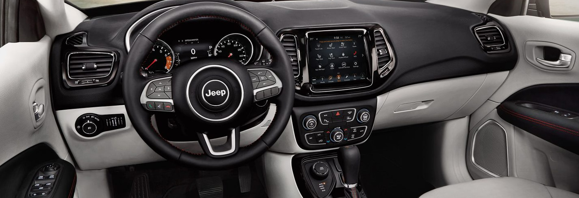Jeep Compass Interior and Exterior Vehicle Features