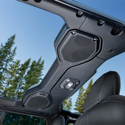 Jeep Wrangler Audio System