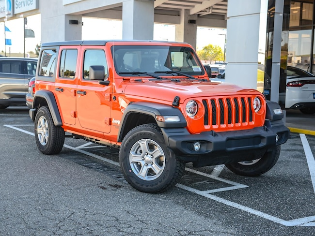 New 2019 Jeep Wrangler UNLIMITED SPORT S 4X4 Sport Utility in Concord, CA
