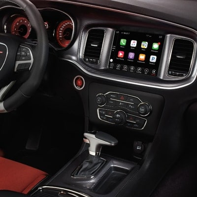 Dodge Charger Uconnect Infotainment