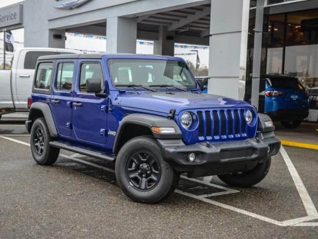New 2018 Jeep Wrangler UNLIMITED SPORT 4X4 Sport Utility in Concord, CA