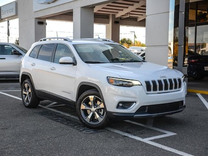 White Jeep Cherokee >> New 2019 Jeep Cherokee Limited Fwd Sport Utility Bright White For
