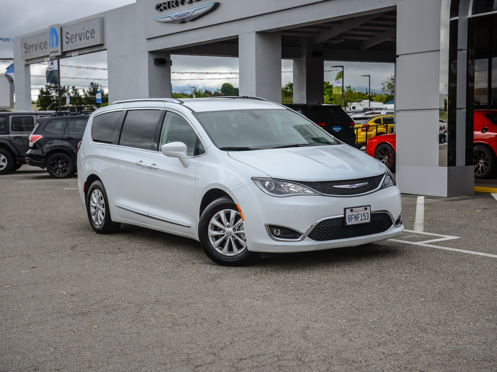 2019 Chrysler Pacifica Mini-van, Passenger