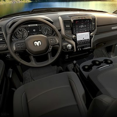 Ram 2500 Interior and Exterior Vehicle Features