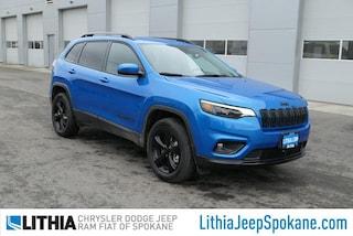 New 2021 Jeep Cherokee ALTITUDE 4X4 Sport Utility For Sale in Spokane