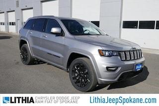 New 2021 Jeep Grand Cherokee LAREDO X 4X4 Sport Utility For Sale in Spokane