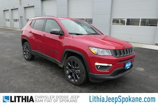 New 2021 Jeep Compass 80TH ANNIVERSARY 4X4 Sport Utility For Sale in Spokane