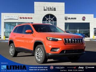 New 2021 Jeep Cherokee LATITUDE LUX 4X4 Sport Utility Santa Fe, NM