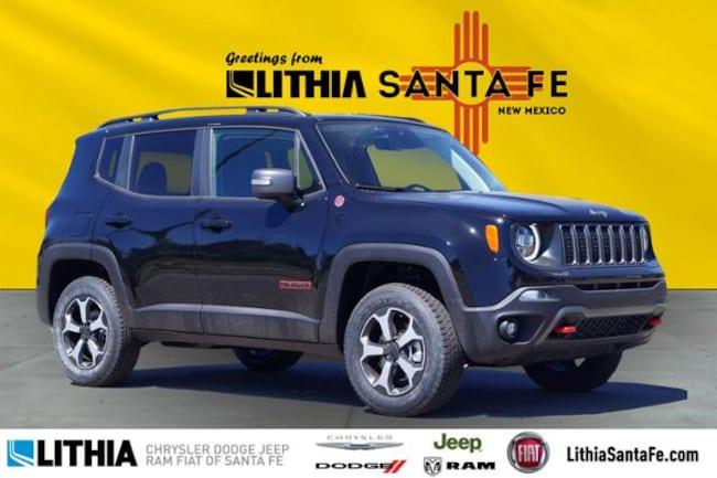 New 2019 Jeep Renegade TRAILHAWK 4X4 Sport Utility Santa Fe, NM