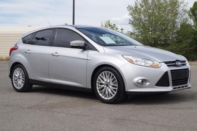 Used 2012 Ford Focus Sel Hatchback Ingot Silver For Sale Santa Fe