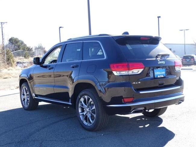 Lithia Santa Fe >> 2019 Jeep Grand Cherokee SUMMIT 4X4 Sport Utility Sangria ...