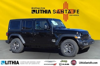 New 2018 Jeep Wrangler UNLIMITED SPORT S 4X4 Sport Utility Santa Fe, NM