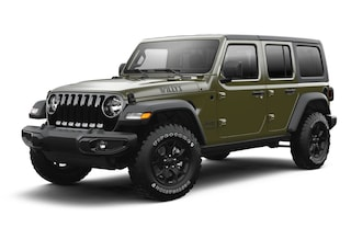 New 2021 Jeep Wrangler UNLIMITED WILLYS SPORT 4X4 Sport Utility For Sale in Santa Fe, NM