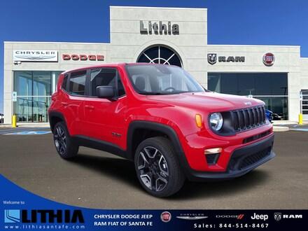 New 2021 Jeep Renegade JEEPSTER 4X4 Sport Utility Santa Fe, NM