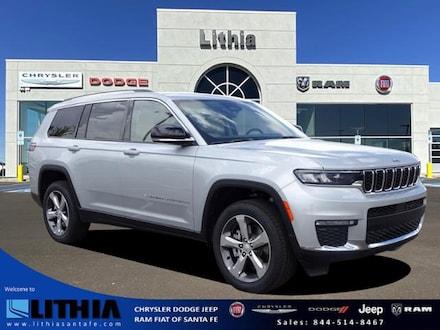 New 2021 Jeep Grand Cherokee L LIMITED 4X4 Sport Utility Santa Fe, NM