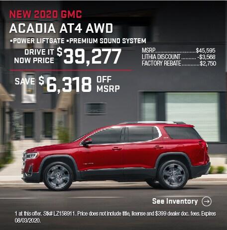 2020 GMC Acadia AT4 AWD