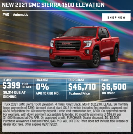 2021 GMC Sierra 1500 Elevation