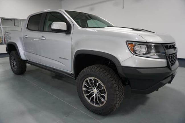 New 2019 Chevrolet Colorado Truck Crew Cab Zr2 Silver Ice For