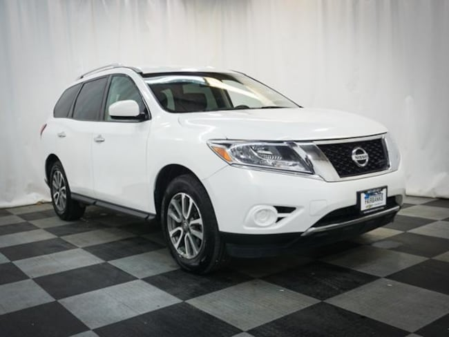 2bcfd95f05565f Used 2013 Nissan SUV SV Moonlight White For Sale at Lithia Auto ...